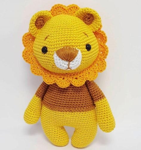How To Crochet A Lion - YouTube | 503x473