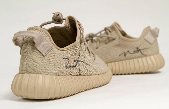 Signed adidas Yeezy Boost 350s Auction by Soles4Soul