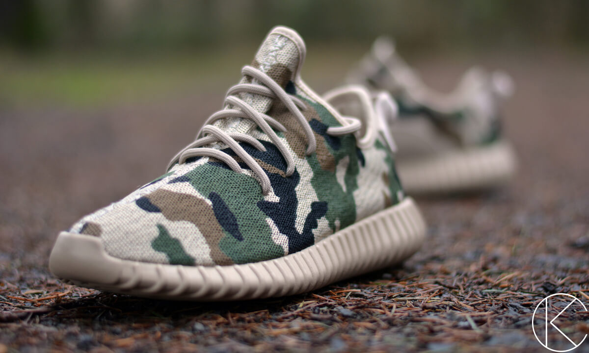 adidas yeezy boost 350 goes camo on new custom