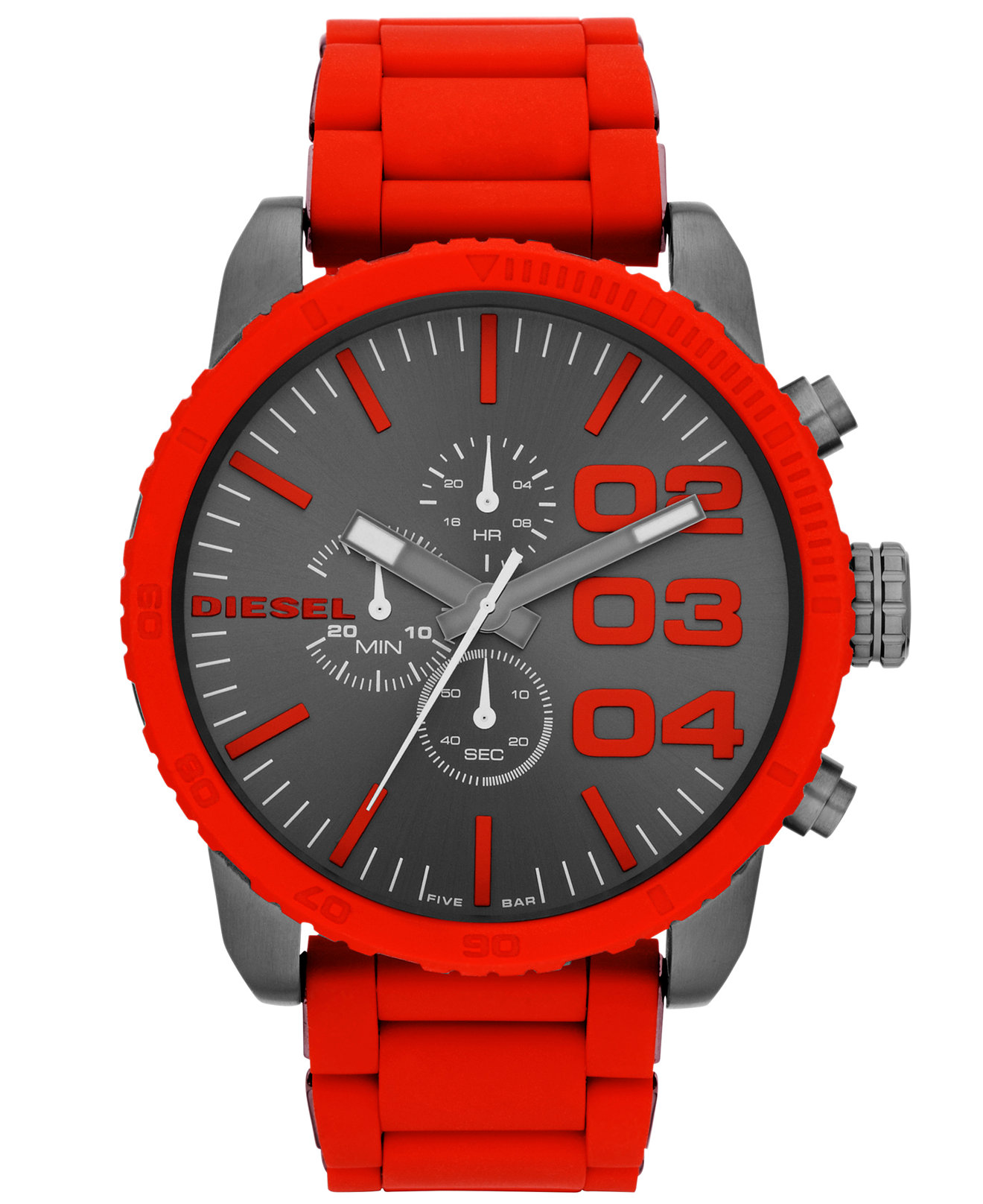 diesel red analog kol saati